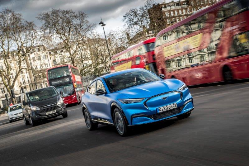 FORD 2020 Go Electric MACH E London 090