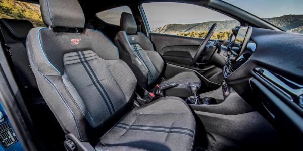 FordFiestaST PerformanceBlue Interior