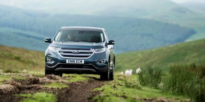 FordEdge UKLaunch-ExteriorOffRoad
